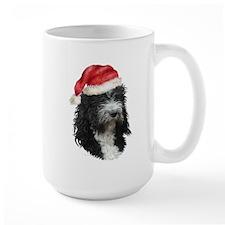 Barbet Christmas Mug