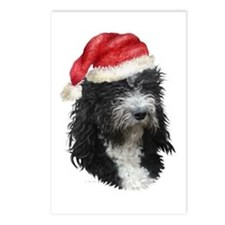 Barbet Christmas Postcards (Package of 8)