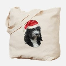 Barbet Christmas Tote Bag