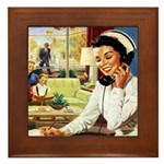 Doctors Nurse Framed Tile