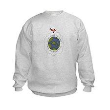 Flying Airplane Sweatshirt