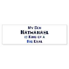 My Son Nathanael Bumper Bumper Sticker