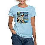 Island Women's Pink T-Shirt