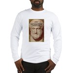 Greek Philosophers: Aristotle Long Sleeve T-Shirt