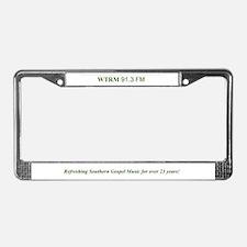 Southern Light License Plate Frame