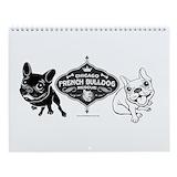 French bulldog Wall Calendars