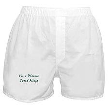 Plasma Sword Ninja Boxer Shorts