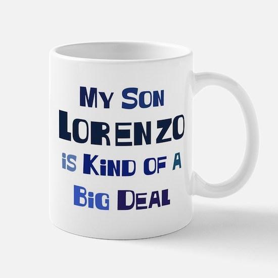 My Son Lorenzo Mug