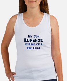 My Son Lorenzo Women's Tank Top