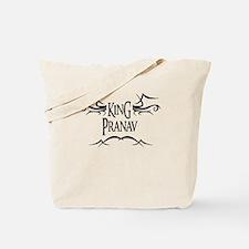 King Pranav Tote Bag