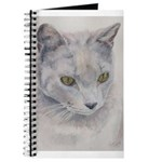Journal Gray Cat