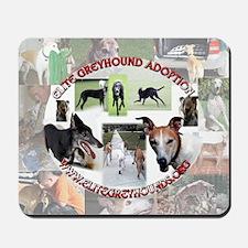 Elite Greyhound Adoption Mousepad