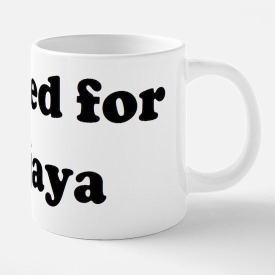 Vote for Sanjaya.JPG 20 oz Ceramic Mega Mug