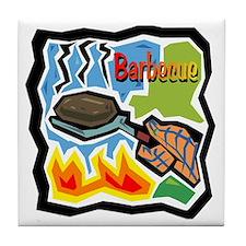 Barbecue Tile Coaster