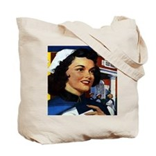 Department Store Nurse Tote Bag