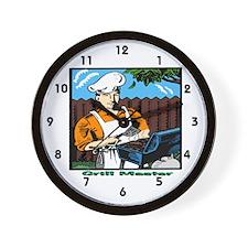 Grill Master Wall Clock
