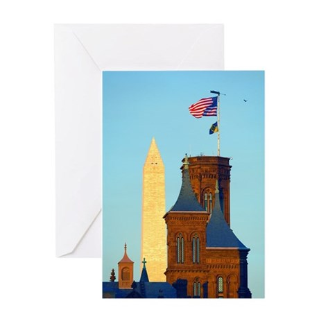 Top of the Castle Greeting Card