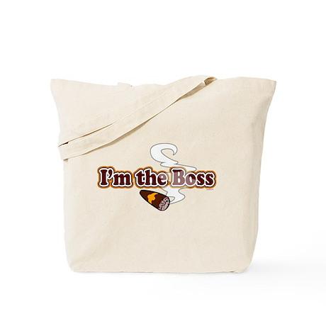 I am the Boss Tote Bag