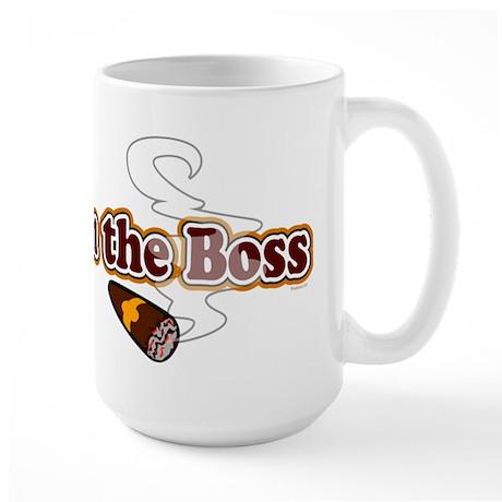 I am the Boss Large Mug