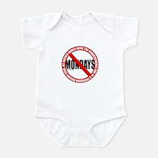 No Mondays2 Infant Bodysuit