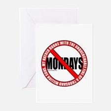 No Mondays2 Greeting Cards (Pk of 20)