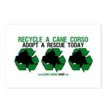 Recycled Cane Corso Postcards (Package of 8)