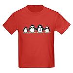 Penguin Family 2 Kids Dark T-Shirt