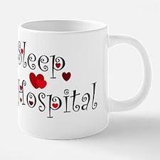 General Hospital heart eat  20 oz Ceramic Mega Mug