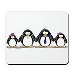 Penguin Family 2 Mousepad