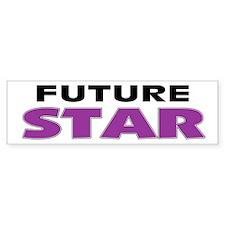 Future Star Bumper Bumper Sticker