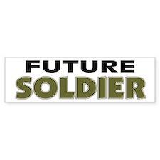 Future Soldier Bumper Car Sticker