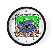 Grilling Wall Clock