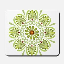 Green Mandala Mousepad