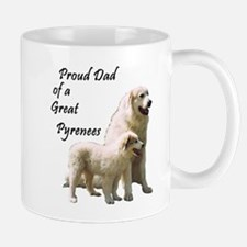 Proud Dad of a Great Pyrenees Mug