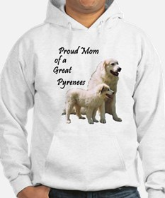 Proud Mom of a Great Pyrenees Jumper Hoody