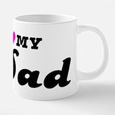 I heart my dad.png 20 oz Ceramic Mega Mug