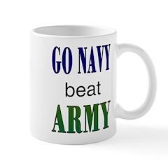 Go Navy beat Army Mug