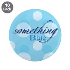 "Something Blue 3.5"" Button (10 pack)"