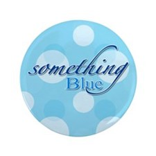 """Something Blue 3.5"""" Button (100 pack)"""