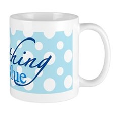 Something Blue Small Mugs