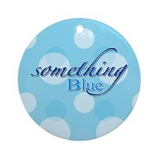 Something Blue Ornament (Round)