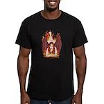 Demoness II Men's Fitted T-Shirt (dark)