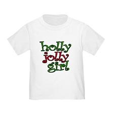 Holly Jolly Girl T