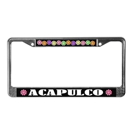 Acapulco License Plate Frame