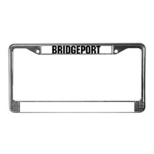 Bridgeport, Connecticut License Plate Frame