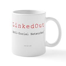 Cute Anti social networking Mug