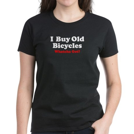 I Buy Old Bicycles Women's Dark T-Shirt