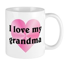 Love My Grandma Mug