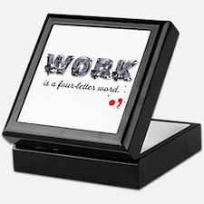 WORK Keepsake Box