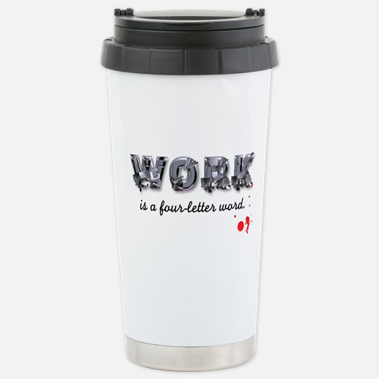 WORK Stainless Steel Travel Mug